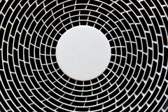 An industrial ventilation fan Stock Photography