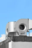 Industrial ventilation system Stock Photo