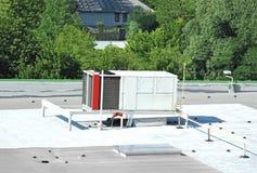 Industrial ventilation system Stock Photos