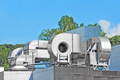 Industrial ventilation system Stock Photo