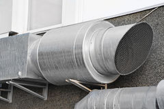 Industrial ventilation system Royalty Free Stock Photography