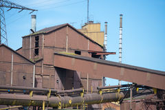 Industrial vestiges Royalty Free Stock Photography