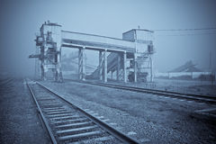 Industrial view Royalty Free Stock Photography