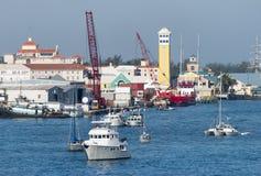 Nassau City Port Industries Stock Photography