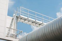Industrial walkway Stock Photography