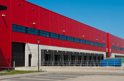 Industrial warehouse Royalty Free Stock Photo