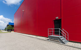 Industrial warehouse Royalty Free Stock Photos