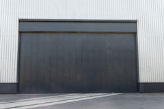 Industrial warehouse door Stock Photo