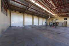 Industrial warehouse doors Stock Images