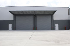 Industrial warehouse Stock Photography