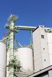 Industrial warehouse and storage silo Stock Photos