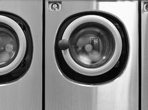 Industrial washing machines Royalty Free Stock Photography