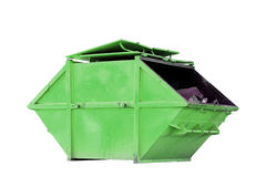 Industrial Waste Bin (dumpster) for municipal waste or industria Stock Photo