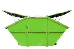 Industrial Waste Bin (dumpster) for municipal waste or industria Stock Images