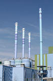 Industrial waste incineration plant Stock Images
