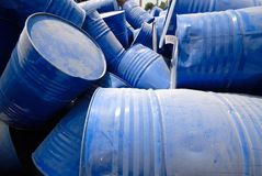 Industrial waste products Stock Photo