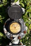 Industrial water meter Royalty Free Stock Photos