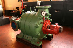 Industrial Water Pump Royalty Free Stock Photography