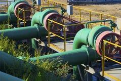 Industrial water pump Stock Photos