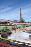 Industrial water treatment plant Royalty Free Stock Photo