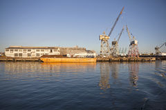 Industrial Waterfront Stock Photo
