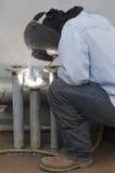 Industrial Welding Stock Photo