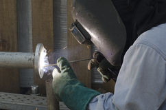 Industrial Welding Royalty Free Stock Photos