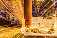 Industrial welding automotive Stock Photo