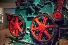 Industrial wheel gear Stock Photo