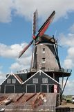 Industrial windmill Stock Image