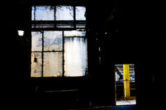 Industrial window Royalty Free Stock Image