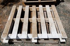 Industrial Wood Pallet Royalty Free Stock Image