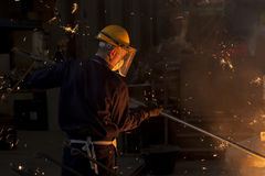 Industrial worker Royalty Free Stock Photo