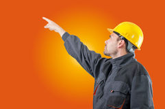Industrial worker Royalty Free Stock Images