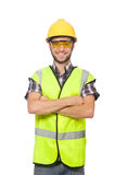 Industrial worker isolated Royalty Free Stock Photography