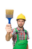 Industrial worker isolated Royalty Free Stock Image