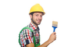 Industrial worker isolated Royalty Free Stock Images