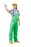 Industrial worker isolated Stock Photo