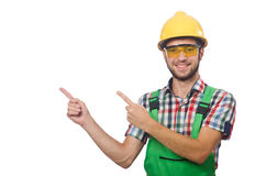 Industrial worker isolated Stock Photos