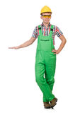 Industrial worker isolated Stock Image