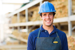 Industrial worker portrait Royalty Free Stock Photo