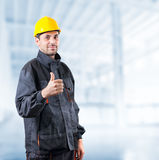 Industrial worker Royalty Free Stock Photos