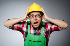 Industrial worker  Royalty Free Stock Image