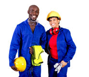 Industrial workers Royalty Free Stock Images