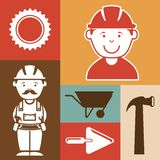 Industrial workers Stock Photography