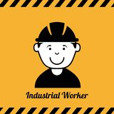 Industrial workers Royalty Free Stock Photos