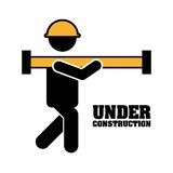 Industrial workers royalty free illustration