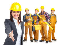 Industrial workers people royalty free stock image