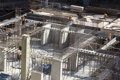 Free Industrial Workers Working At Contruction Site Stock Photography - 89454172