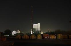 Industrial yard. Photo taken in Horsens, Denmark, winter Stock Photos